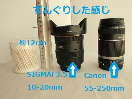 SIGMA超広角レンズ10-20ミリF3.5