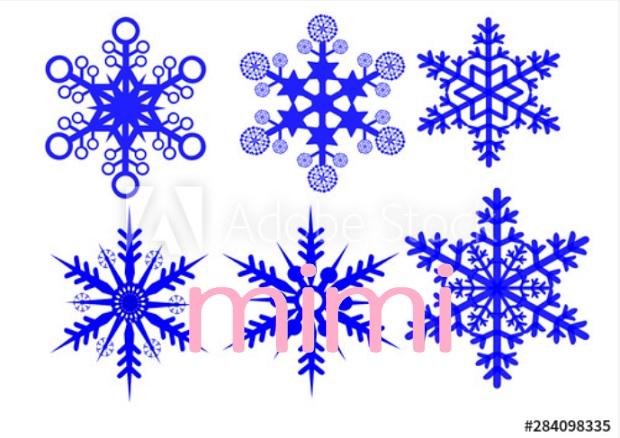 Adobeで売れた雪の結晶
